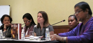 Holly Kearl presents at the 3rd International Conference on Safety for Women in Delhi, India